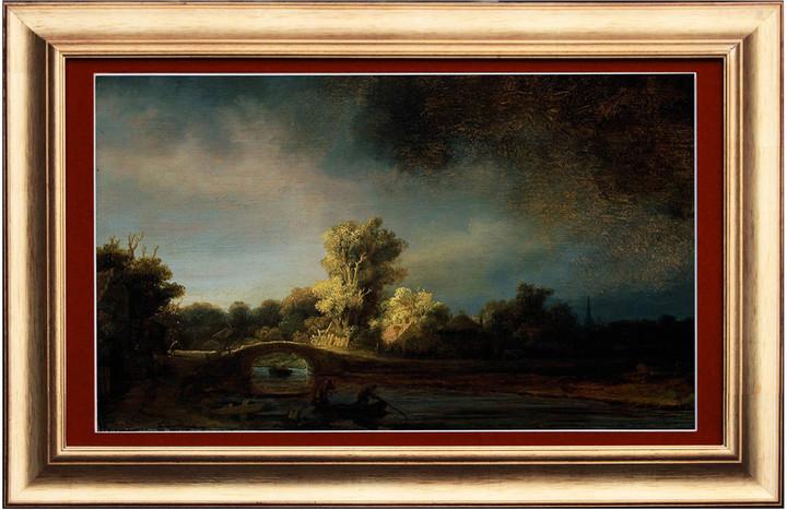FrameXX PRO 491 digitální fotoobraz, rám přírodní olše