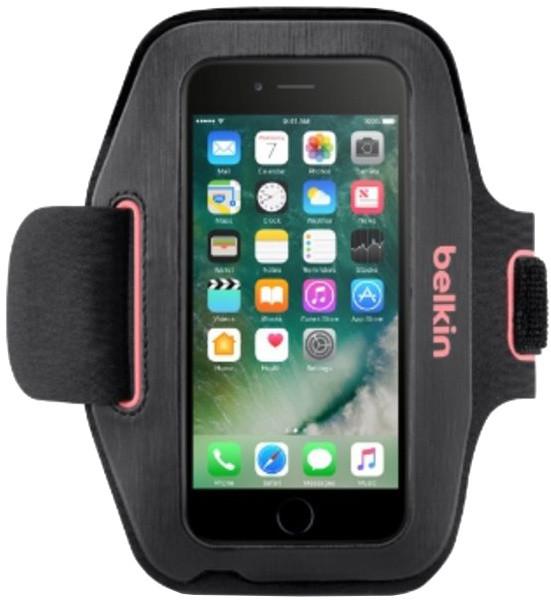 Belkin sportovní pouzdro SportFit pro iPhone 7, růžové