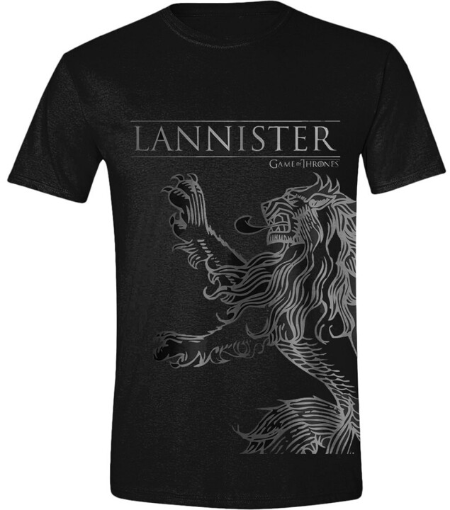 Tričko Game of Thrones - Lannister House Sigil (XL)