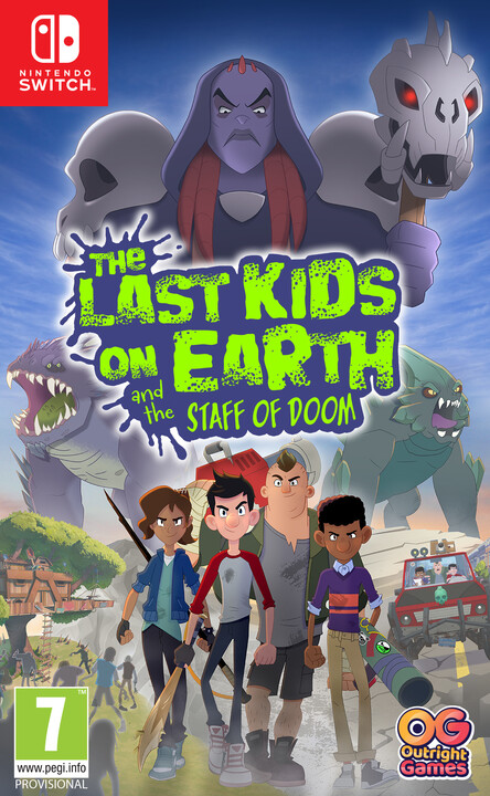 The Last Kinds on Earth and the Staff of Doom (SWITCH)