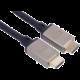 PremiumCord kabel HDMI 2.1, M/M, 8K@60Hz, Ultra High Speed, pozlacené konektory, 1m, černá