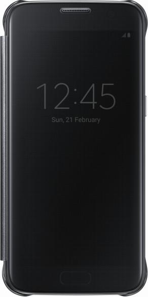 Samsung EF-ZG930CB Flip Clear View Galaxy S7,Black