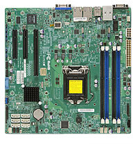 SuperMicro X10SLH-F-O - Intel C226