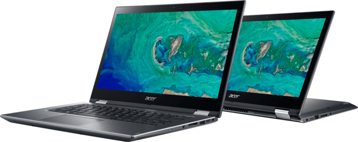 Acer Spin 3 (SP314-51-38Y8), šedá