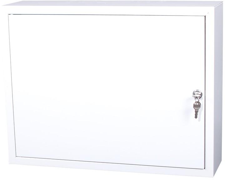 Masterlan nástěnný, 520x400x140, plechová, uzamykatelná, IP20