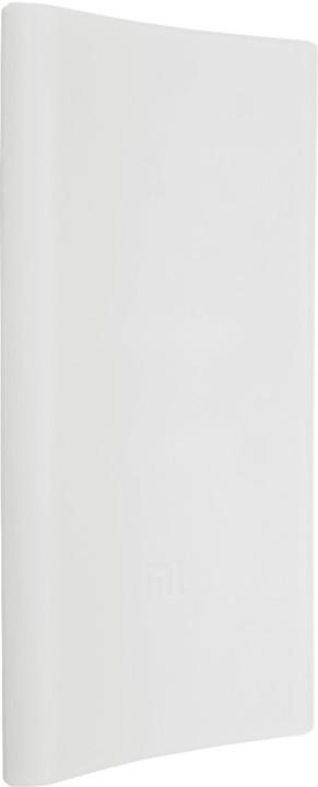 Xiaomi silikonové pouzdro pro Xiaomi Power Bank 5000 mAh, bílá