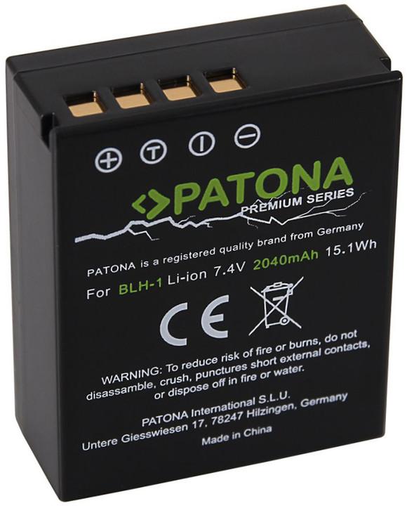 Patona baterie pro foto Olympus BLH-1 2040mAh Li-Ion Premium