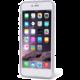 EPICO pružný plastový kryt pro iPhone 6 Plus/6S Plus BRIGHT - stříbrná