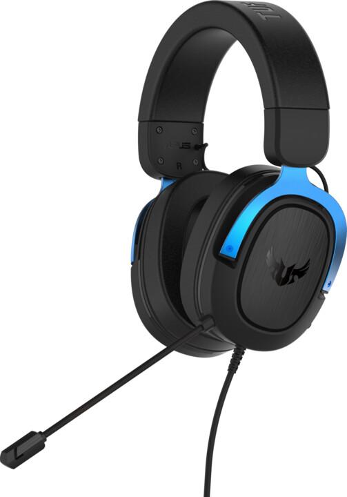 ASUS TUF Gaming H3, černá/modrá