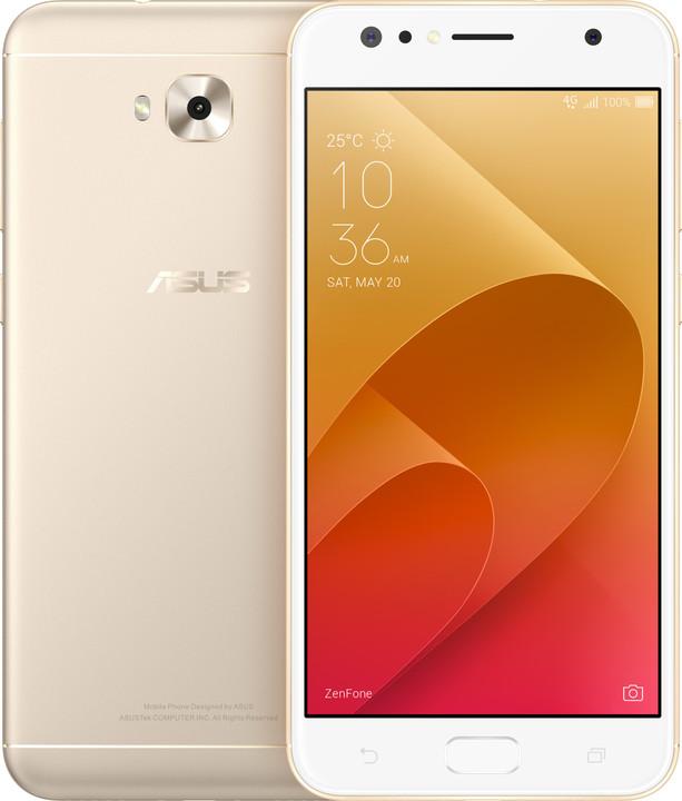 ASUS ZenFone 4 Selfie ZD553KL-5G027WW, 4GB/64GB, zlatá