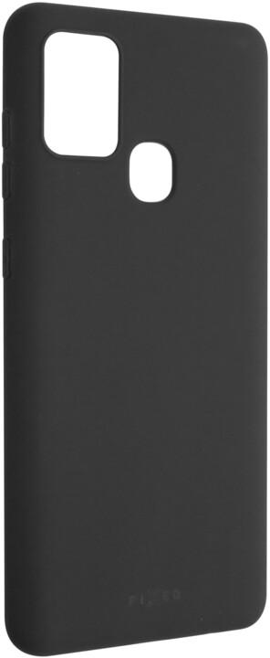 FIXED Story zadní pogumovaný kryt pro SamsungGalaxy A21s, černá