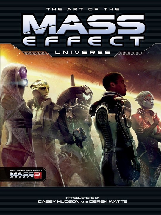 Kniha The Art of Mass Effect Universe (EN)