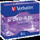 Verbatim DVD+R DL 8x 8,5GB jewel 5ks