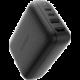 HyperDrive 60W USB-C Power Hub, GaN nabíjecí adaptér a HDMI hub, černá