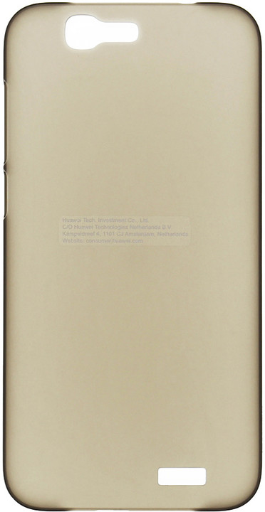 Huawei Original Protective Pouzdro 0.8mm Black Ascend G7 (EU Blister)