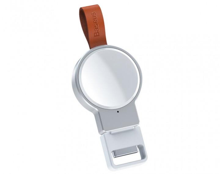 Baseus Dotter bezdrátová nabíječka pro Apple Watch, bílá