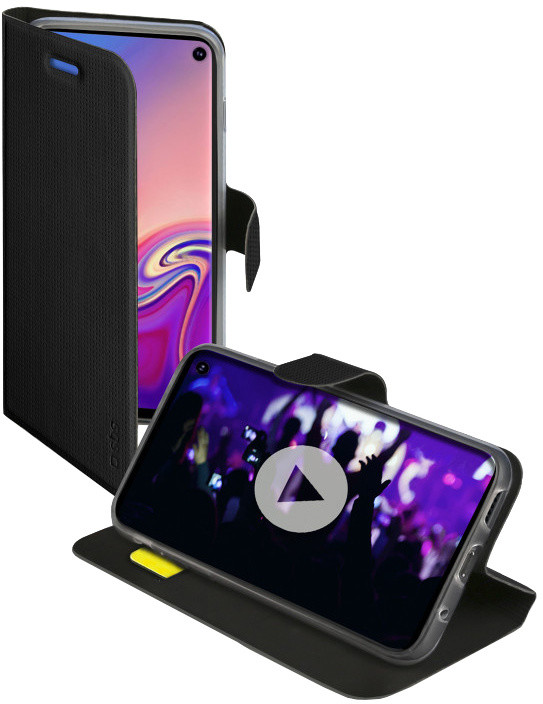 SBS pouzdro Book Sense pro Samsung Galaxy S10, černá