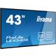 "iiyama LE4340S-B1 - LED monitor 43"""