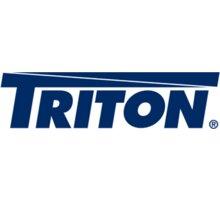 Triton dveře RAX-DC-A12-X1, 9U, celoskleněné, včetně kování