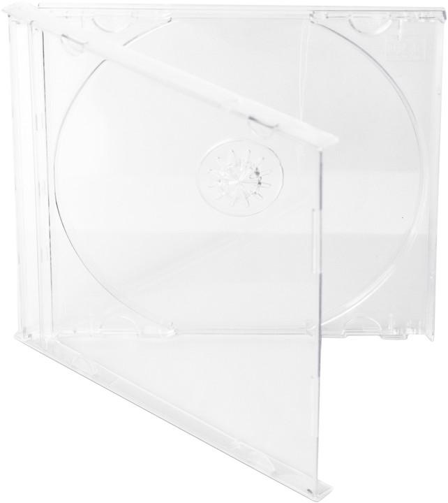 Cover It 1 CD 10mm jewel box + tray čirý 10ks/bal