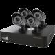 iGET HOMEGUARD HGDVK46704, 4-kanálový HD DVR + 4x HGPRO728 kamera HD720p, IP66  + Voucher až na 3 měsíce HBO GO jako dárek (max 1 ks na objednávku)
