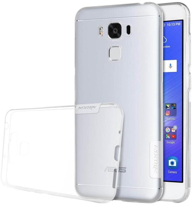 Nillkin Nature TPU Pouzdro Transparent pro Asus Zenfone 3 Max ZC553KL