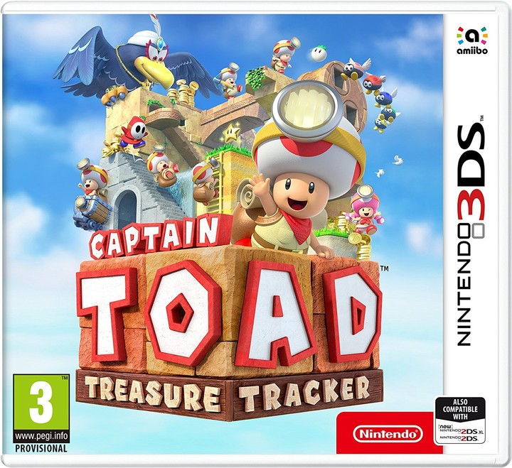Captain Toad: Treasure Tracker (3DS)