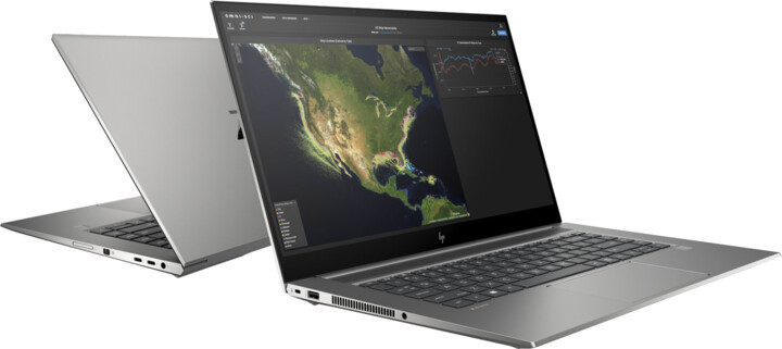 HP ZBook Studio G7, stříbrná/šedá