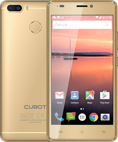 CUBOT H3 - 32GB, zlatá