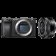 Sony Alpha 6300 + 16-50mm, černá