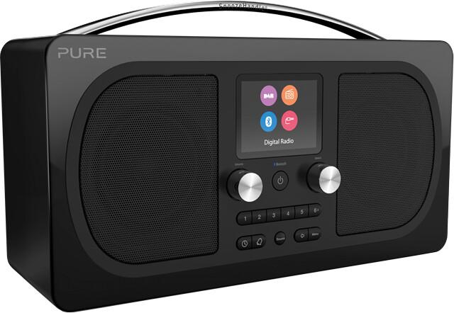 Pure Evoke H6, černá