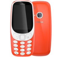 Nokia 3310, Single Sim, Red