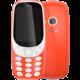 Nokia 3310, Dual Sim, červená  + 300 Kč na Mall.cz