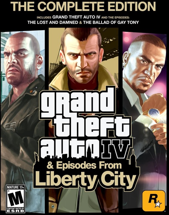 Grand Theft Auto IV Complete (PC)