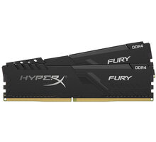 HyperX Fury Black 16GB (2x8GB) DDR4 2666, black