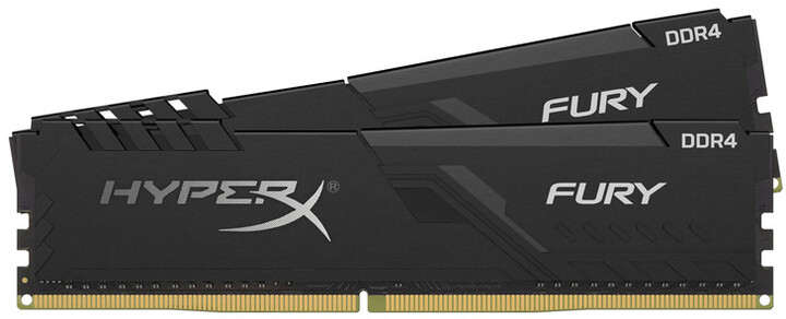 HyperX Fury Black 16GB (2x8GB) DDR4 2666 CL16
