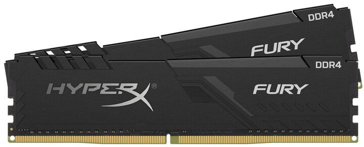 HyperX Fury Black 16GB (2x8GB) DDR4 2400 CL15