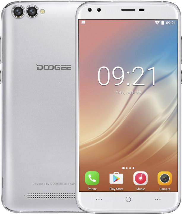 DOOGEE X30, 16GB, stříbrná