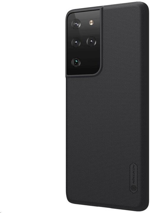 Nillkin Super Frosted zadní kryt pro Samsung Galaxy S21 Ultra, černá