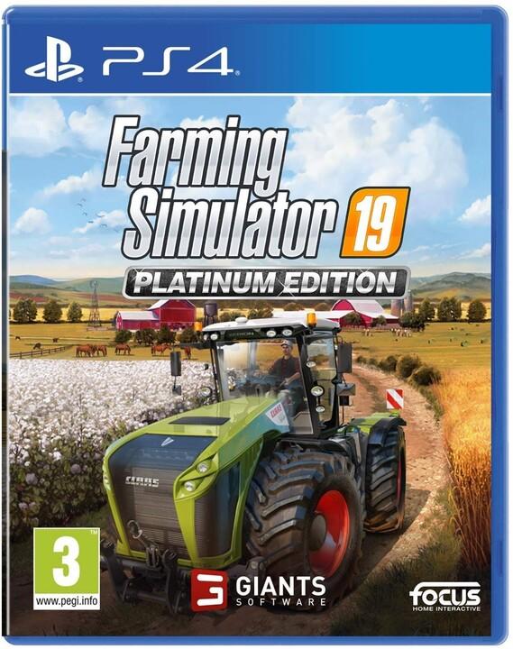 Farming Simulator 19 - Platinum Edition (PS4)