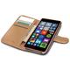 CELLY Wally pouzdro pro Microsoft Lumia 540 / 540 Dual SIM, PU kůže, černá