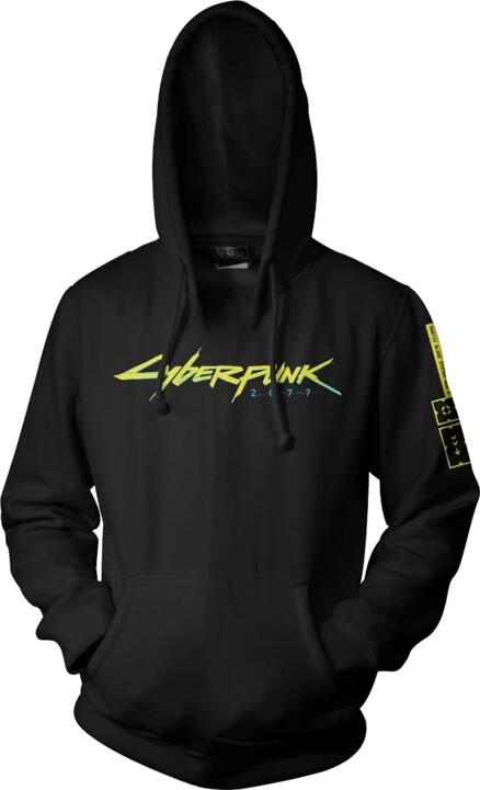 Mikina Cyberpunk: Laser Logo Lite (XL)