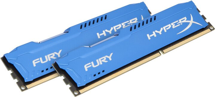 HyperX Fury Blue 8GB (2x4GB) DDR3 1866