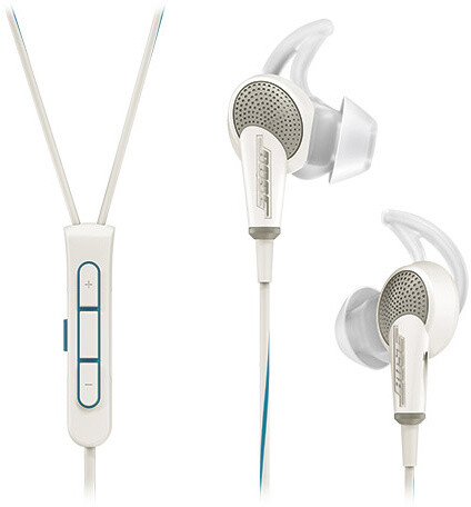 Bose QuietComfort 20, Apple, bílá