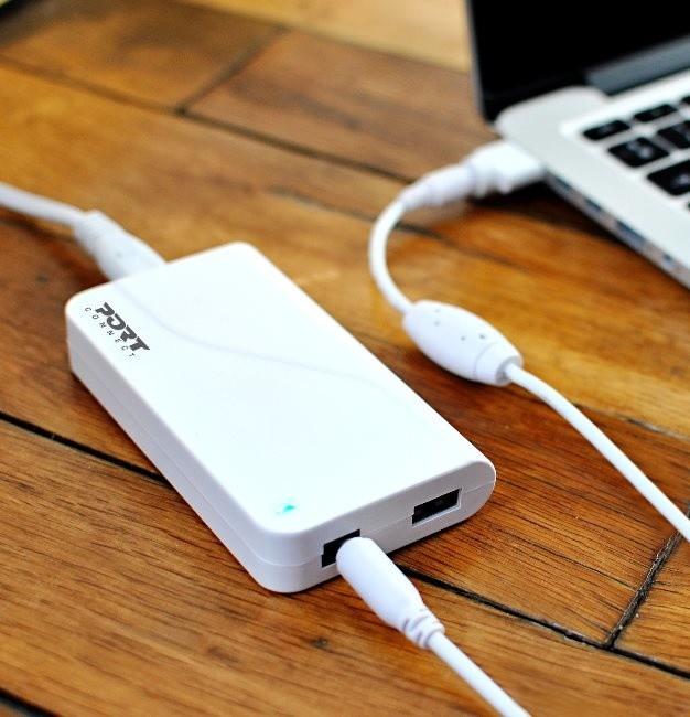 PORT CONNECT Napájecí adaptér k Macbooku, 16,5V, 3,65A, 60W, + MagSafe1&2 + USB