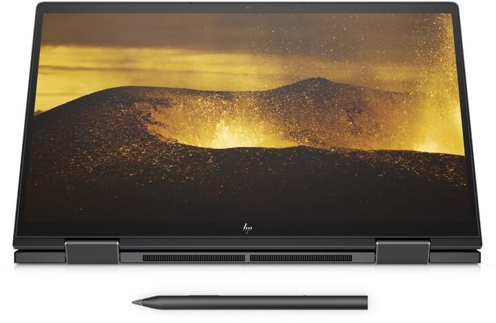 HP ENVY x360 13-ay0002nc, černá + ON Site záruka