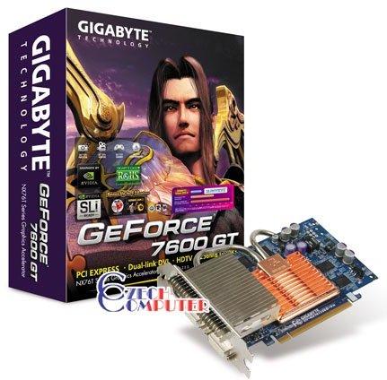 GigaByte GeForce 7600GT GV-NX76T256D-RH 256MB, PCIE