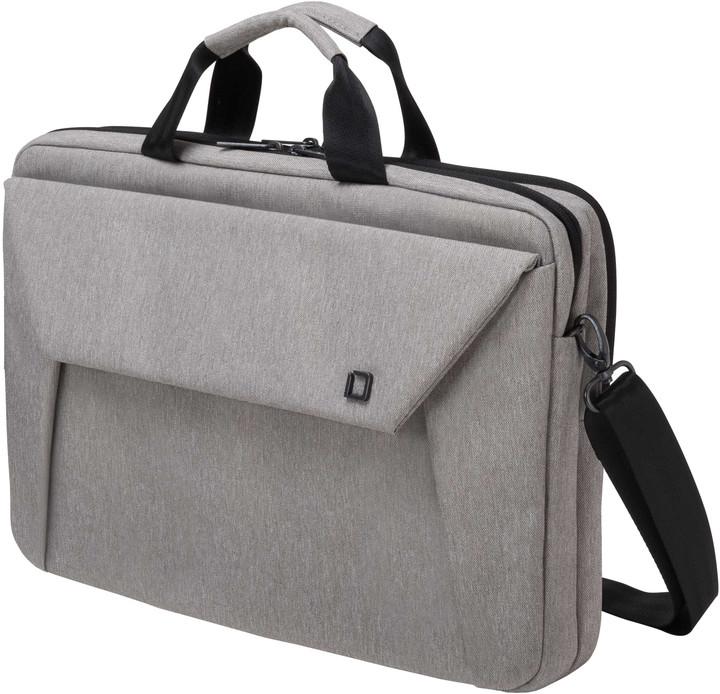 "DICOTA Slim Case Plus EDGE - Brašna na notebook - 15.6"" - světle šedá"