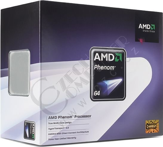AMD Phenom X3 8750 (HD8750WCGHBOX) BOX
