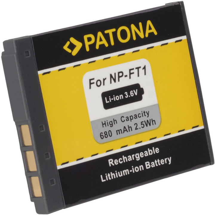 Patona baterie pro Sony NP-FT1 680mAh